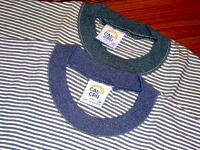 【CAL CRU】 カルクルー SS BORDER TEE 80〜90s デッドストック 半袖 ボーダー柄 Tシャツ