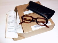 US MILITARY 80s EYEGLASS FRAME 米国セーフティサービス製 ヴィンテージ レトロ 眼鏡フレーム