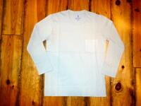 【Velva Sheen】 ベルバシーン 3/4S CREW POCKET TEE 七分袖 ポケットTシャツ #16S14014