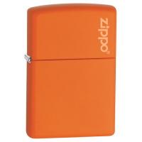 Orange(オレンジ) Matte Zippo Logo(231ZL)