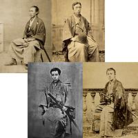 幕末フォトグラフ「龍馬と長州藩士たち」オリジナルポストカード 4枚セット