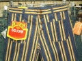 BIGJOHN YELLOW BUTTON-UP JEANS BELL BOTTOM