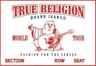 TRUE RELIGION JOEY SUPER T STYLE 24803MT2J COLOR 08-BLCHD JOEY SUPER T 100%COTTON