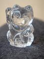 水晶招き猫(金)