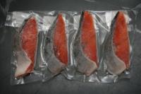 北海道知床羅臼産秋鮭完全骨無し切身 70gX4
