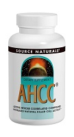 AHCC 500mg 60カプセル (SourceNatural)