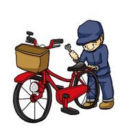 自転車の出張修理屋さん つやま  画像