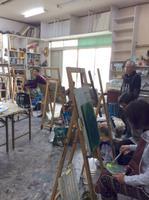 絵画教室原の山アトリエ 画像