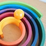 木のおもちゃ 木こりのおもちゃ箱のメイン画像