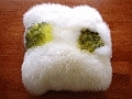 sheepskin cushion WY
