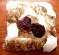 sheepskin cushion W&BR